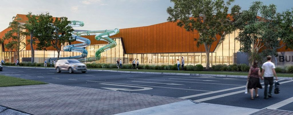 Australia's First Zero Emissions Leisure Centre.